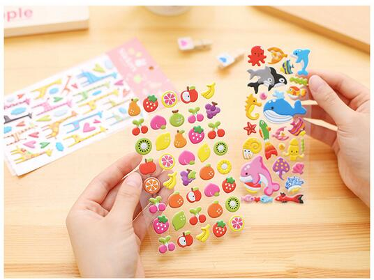 Foam Puffy Bubble Stickers