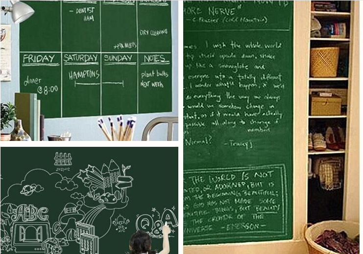 Extra Large Chalkboard Decal Paint Wall Sticker
