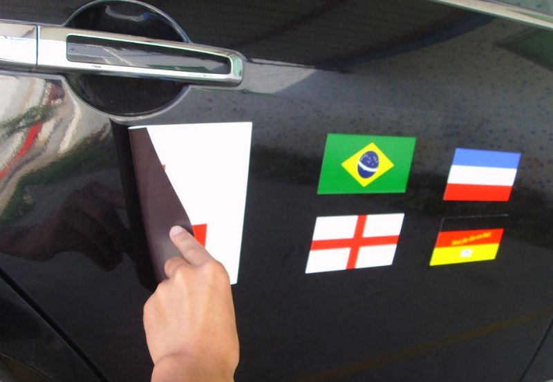 Magnetic Car Sticker