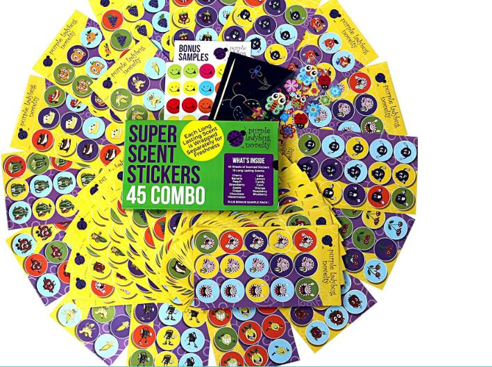 Scratch and Sniff Stickers