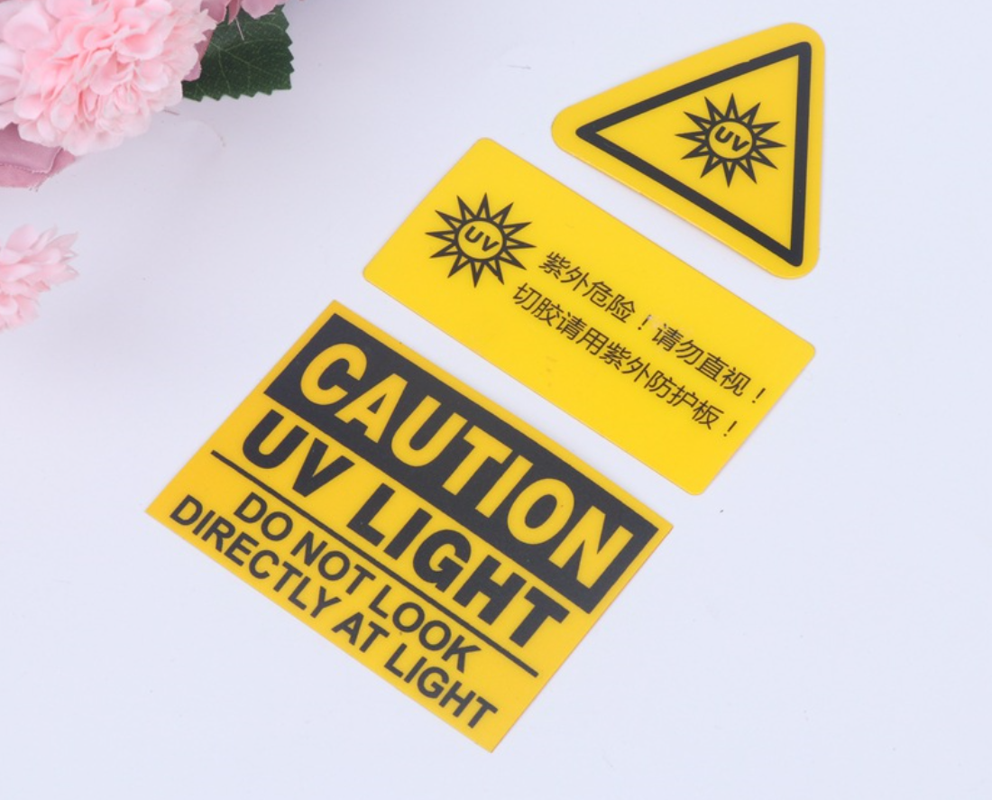 Custom  Custom Caution Labels Warning Sticker