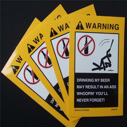 Vehicle Safety Labels Printing