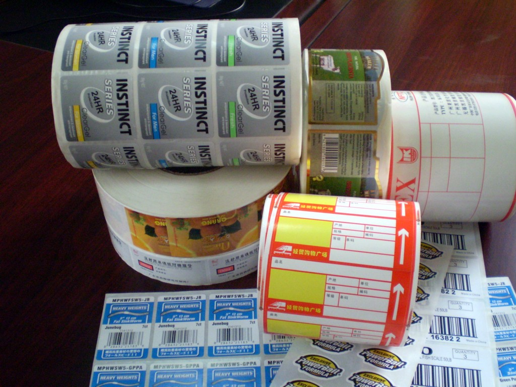 Ecofriendly Pet Custom Label Printing Machine Roll Sticker - Custom stickers eco friendly